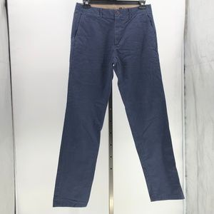 Gap lived in straight pants blue mens tag sz 33x34